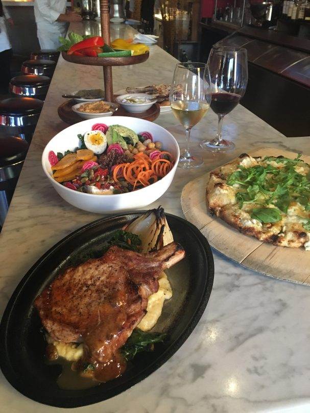 bottega-food-setup
